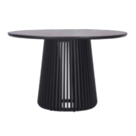 Oslo Black Stain Dining Table