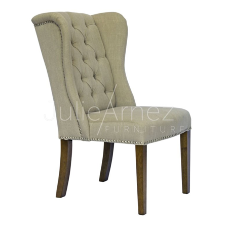 Royale Linen Chair